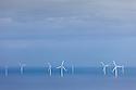 Offshore windfarm, Colwyn Bay, Wales.