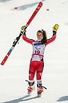 Mollie Jepsen, PyeongChang 2018 - Para Alpine Skiing // Ski para-alpin.<br /> Mollie Jepsen skis to the bronze in the giant slalom // Mollie Jepsen skis pour le bronze dans le slalom géant. 14/03/2018.