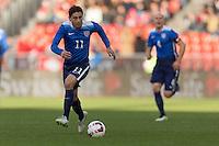 Zürich, Switzerland - Tuesday, March 31, 2015: The USMNT and Switzerland played to 1-1 draw in an international friendly at Stadion Letzigrund.