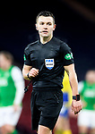 St Johnstone v Hibs…23.01.21   Hampden     BetFred Cup Semi-Final<br />Referee Nick Walsh<br />Picture by Graeme Hart.<br />Copyright Perthshire Picture Agency<br />Tel: 01738 623350  Mobile: 07990 594431