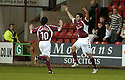02/01/2007       Copyright Pic: James Stewart.File Name : sct_jspa05_dunfermline_v_hearts.MICHAL POSPISIL CELEBRATES SCORING HEARTS FIRST....James Stewart Photo Agency 19 Carronlea Drive, Falkirk. FK2 8DN      Vat Reg No. 607 6932 25.Office     : +44 (0)1324 570906     .Mobile   : +44 (0)7721 416997.Fax         : +44 (0)1324 570906.E-mail  :  jim@jspa.co.uk.If you require further information then contact Jim Stewart on any of the numbers above.........