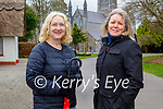Enjoying a stroll in the Killarney National park on Sunday, l to r: Eileen O'Regan and Angela Dameshghi.