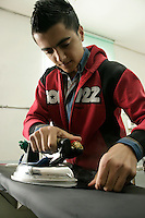 Textiles worker in Pendik, Istanbul, Turkey
