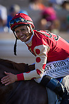 July 16, 2015: Soul Driver and Mike Smith win the Oceanside Stakes at Del Mar Thoroughbred Club in Del Mar, California. Zoe Metz/ESW/CSM