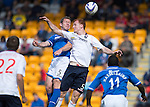 St Johnstone v Ross County...17.08.13 SPFL<br /> Frazer Wright and Scott Boyd<br /> Picture by Graeme Hart.<br /> Copyright Perthshire Picture Agency<br /> Tel: 01738 623350  Mobile: 07990 594431
