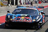 4th September 2021; Red Bull Ring, Spielberg, Austria; DTM  Race 1 at Spielberg;   Liam Lawson NZ Red Bull AF Corse, Ferrari 488 GT3 Evo