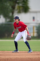 FCL Twins shortstop Keoni Cavaco (51) during a game against the FCL Red Sox on July 3, 2021 at CenturyLink Sports Complex in Fort Myers, Florida.  (Mike Janes/Four Seam Images)