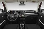 Stock photo of straight dashboard view of 2021 Suzuki Swift GL-Plus-Hybrid 5 Door Hatchback Dashboard