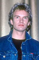 Sting 1980s<br /> Photo by Adam Scull/PHOTOlink