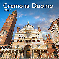 Pictures of Cremona Romanesque Cathedral Duomo - Italy -