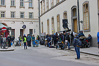 **FOR USA ONLY** On the set of the third season of Amazon Prime's Tom Clancy's Jack Ryan in Vienna. May 3, 2021. Credit: Action Press/MediaPunch