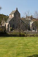 Europe/France/Normandie/Basse-Normandie/50/Manche/Cap de la Hague/Omonville-la-Rogue: L'église gothique Saint-Jean-Baptiste // Europe/France/Normandie/Basse-Normandie/50/Manche/Cap de la Hague/Omonville-la-Rogue: the church