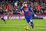 FC Barcelona's Leo Messi during spanish La Liga match between Futbol Club Barcelona and Real Madrid  at Camp Nou Stadium in Barcelona , Spain. Decembe r03, 2016. (ALTERPHOTOS/Rodrigo Jimenez)