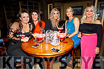 Amy Kennelly from Tralee celebrating her birthday in the Mall Tavern on Saturday.<br /> L to r: Amy Kennelly, Desiree Waters, Klara McGee, Marissa Locke and Stacey Donovan.