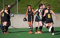 Wellington v Tasman. 2021 National Women's Under-18 Hockey Tournament day four at National Hockey Stadium in Wellington, New Zealand on Wednesday, 14 July 2021. Photo: Dave Lintott / lintottphoto.co.nz https://bwmedia.photoshelter.com/gallery-collection/Under-18-Hockey-Nationals-2021/C0000T49v1kln8qk