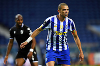 22nd April 2021; Dragao Stadium, Porto, Portugal; Portuguese Championship 2020/2021, FC Porto versus Vitoria de Guimaraes; Pepe of FC Porto watches the cross come in