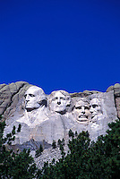 Mt. Rushmore in South Dakota