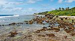 Phosphate along the coast of Nauru