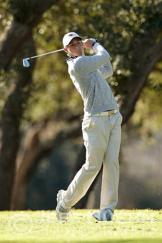 SAN ANTONIO, TX - FEBRUARY 10, 2015: The UTSA Oak Hills Invitational Golf Tournament at the Oak Hills Country Club. (Photo by Jeff Huehn)