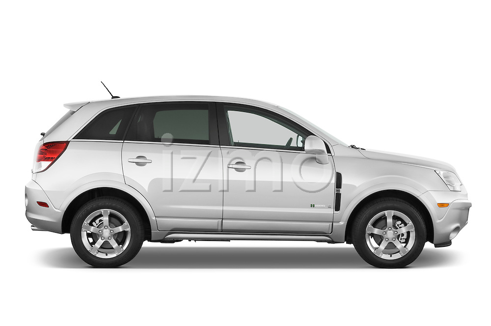Passenger side profile view of a 2008 Saturn Vue Greenline.