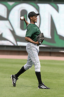 Clinton Lumberkings Julian Cordero during practice before a Midwest League game at Fifth Third Field on July 18, 2006 in Dayton, Ohio.  (Mike Janes/Four Seam Images)