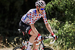 Polka Dot Jersey Tim Wellens (BEL) Lotto-Soudal during Stage 16 of the 2019 Tour de France running 177km from Nimes to Nimes, France. 23rd July 2019.<br /> Picture: ASO/Pauline Ballet   Cyclefile<br /> All photos usage must carry mandatory copyright credit (© Cyclefile   ASO/Pauline Ballet)