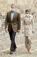 JUL 12 King Felipe and Queen Letizia visit Roncesvalles