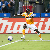 SANTA CLARA, CA – OCTOBER 16: Houston Dynamo forward Dominic Oduro (23)during a soccer match at Buck Shaw Stadium, October 16, 2010 in Santa Clara, California. Final score San Jose Earthquakes 0, Houston Dynamo 1.