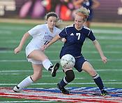 Soccer: Fayetteville vs Rogers Heritage Girls April 7, 2015