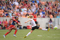 Houston, TX - Sunday Oct. 09, 2016: McCall Zerboni during the National Women's Soccer League (NWSL) Championship match between the Washington Spirit and the Western New York Flash at BBVA Compass Stadium.