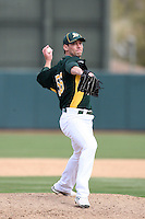 Craig Breslow. Oakland Athletics spring training game vs. Chicago White Sox at Phoenix Municipal Stadium, Phoenix, AZ - 03/10/2010.Photo by:  Bill Mitchell/Four Seam Images.