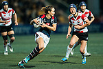 Jenny Colleen Tjosvold (c) competes against Japan during the Womens Rugby World Cup 2017 Qualifier match between Hong Kong and Japan on December 17, 2016 in Hong Kong, Hong Kong. Photo by Marcio Rodrigo Machado / Power Sport Images