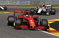30th August 2020, Spa Francorhamps, Belgium, F1 Grand Prix of Belgium , Race Day;  5 Sebastian Vettel GER, Scuderia Ferrari Mission Winnow