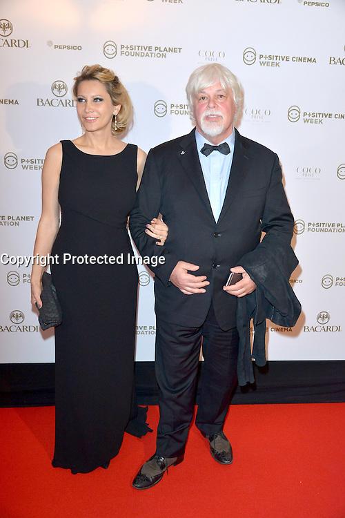 18 mai 2016 Cannes France Hotel Martinez Positive Cinema Day avec Paul WATSON president SEA SHEPERD