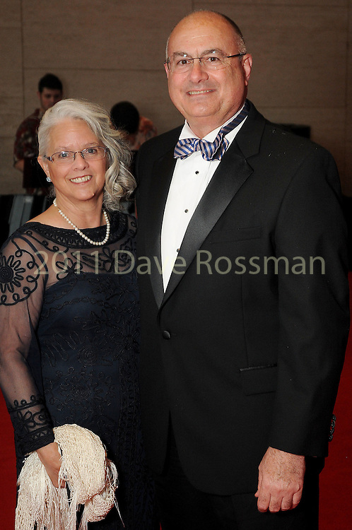 """Cathie and Greg Powers at the 2016 Houston Symphony Gala """"Carnaval"""" at Jones Hall Saturday May 14,2016(Dave Rossman Photo)"""