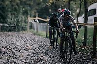 Laura Verdonschot (BEL/Marlux-Napoleon Games)<br /> <br /> Women's race<br /> Superprestige Gavere / Belgium 2017