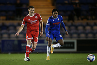 Jordan Tunnicliffe of Crawley Town during Colchester United vs Crawley Town, Sky Bet EFL League 2 Football at the JobServe Community Stadium on 1st December 2020