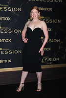 """October 12, 2021.Sarah Snook attend HBO's """"Succession"""" Season 3 Premiere at the  American Museum of Natural History in New York October 12, 2021 Credit: RW/MediaPunch"""
