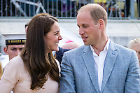 Royals William & Kate -  Cornwall Tour - 01.09.2016