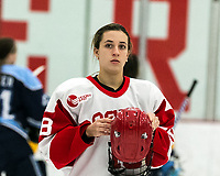BOSTON, MA - JANUARY 04: Haylee Blinkhorn #18 of Boston University during a game between University of Maine and Boston University at Walter Brown Arena on January 04, 2020 in Boston, Massachusetts.