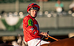 OCT 05: Jamie Spencer at the Shadwell Turf Mile at Keeneland Racecourse, Kentucky on October 05, 2019. Evers/Eclipse Sportswire/CSM
