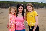 Enjoying Ballybunion beach on Sunday, l to r: Sofia, Alisha and Katelyn O'Dwyer from Lisselton.