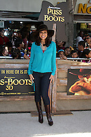 """LOS ANGELES - OCT 23:  Constance Marie.    """"Puss In Boots"""" Los Angeles Premiere.    Sharon Leal arriving at the """"Puss In Boots"""" Premiere at the Regency Village Theater on October 23, 2011 in Westwood, CA"""