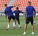 Atletico de Madrid's Thomas Lemar during training session. August 8,2020.(ALTERPHOTOS/Atletico de Madrid/Pool)