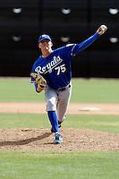 John Lamb - Kansas City Royals - 2009 spring training.Photo by:  Bill Mitchell/Four Seam Images