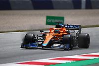 July 3rd 2021; F1 Grand Prix of Austria, qualifying sessions;   Formula 1 Austria Gran Prix 2021 Daniel Ricciardo of McLaren on track  Red Bull Ring Austria