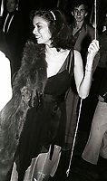 Bianca Jagger6688.JPG<br /> New York, NY 1978 FILE PHOTO<br /> Bianca Jagger; Studio 54 1st Anniversary<br /> Digital photo by Adam Scull-PHOTOlink.net<br /> ONE TIME REPRODUCTION RIGHTS ONLY<br /> NO WEBSITE USE WITHOUT AGREEMENT<br /> 718-487-4334-OFFICE  718-374-3733-FAX