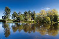 Boating Pond, Cooper Park, Elgin