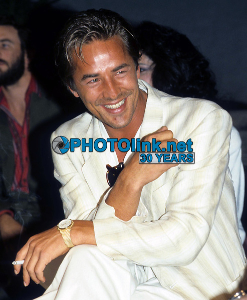 Don Johnson 1985<br /> Photo by Adam Scull/PHOTOlink