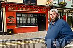 Sean Broderick in Joe Broderick's bar in Listowel.